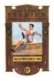 Cover of Programme for 1908 Olympic Games in London Reproduction procédé giclée