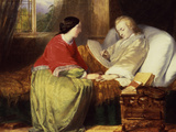 Mozart Composes His Requiem, C19th Giclee Print by William James Grant