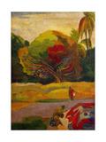 Women by the River, 1892 Reproduction procédé giclée par Paul Gauguin