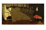Le Sommeil (Sleep), c.1891 Reproduction procédé giclée par Edouard Vuillard