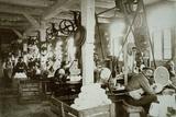Glassworks, Baruth, C 1910 Lámina fotográfica