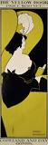 """""""The Yellow Book (...),"""" Advertisement for Magazine Reproduction procédé giclée par Aubrey Beardsley"""