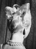 """Hairdo """"Pink Ice"""", 1950 Photographic Print"""