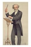 Giuseppe Verdi, Caricature from Vanity Fair Giclee Print