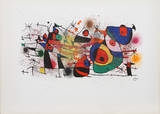 Ceramiques, from Ceramiques de Miro et Artigas (M. 928) Samletrykk av Joan Miró