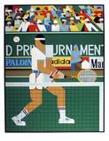 Tennis Player Spesialversjon av Giancarlo Impiglia