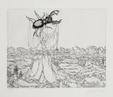Untitled - (Beetle) Limited Edition by Rauch Hans Georg