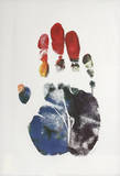 Hand Portrait Lámina coleccionable por Arthur Boden