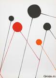 Balões Impressão colecionável por Alexander Calder