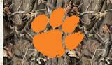 NCAA Clemson Tigers Camo Flag with Grommets Flag