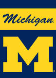 NCAA Michigan Wolverines 2-Sided Garden Flag Flag