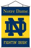 NCAA Notre Dame Indoor Banner Scroll Pergaminho de parede