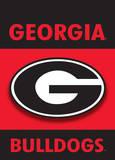 NCAA Georgia Bulldogs 2-Sided Garden Flag Flag