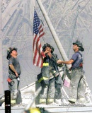 Historical New York Firefighters / Ground Zero Photo