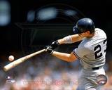 Don Mattingly - 1990 Batting Action Photo