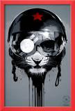 Eye of the Tiger Gerahmter Giclée-Druck von Hidden Moves