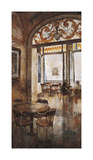 Grand Cafe Cappuccino I Giclee Print by Noemi Martin
