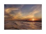 Corpus Christi Sunset Giclee Print by Mike Jones