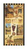 País de vino II Lámina giclée por Elizabeth Jardine