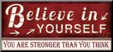Believe in Yourself Mounted Print by Jennifer Pugh