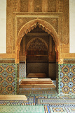 Saadian Tombs, Medina, Marrakesh, Morocco, North Africa, Africa Photographic Print by Jochen Schlenker