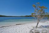 Mckenzie Lake, Fraser Island, UNESCO World Heritage Site, Queensland, Australia, Pacific Fotografie-Druck von Michael Runkel