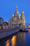 The Church on Spilled Blood, UNESCO Site, on Kanal Griboedova, St. Petersburg, Russia Impressão fotográfica por Martin Child