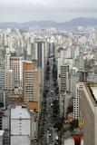 Skyline of Sao Paulo, Brazil, South America Photographic Print by Yadid Levy