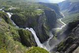 Voringfoss Waterfall, Near Eidfjord, Hordaland, Norway, Scandinavia, Europe Impressão fotográfica por Gary Cook