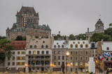 Quebec City with Chateau Frontenac on Skyline, Province of Quebec, Canada, North America Photographic Print by Michael Snell