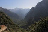 Samaria Gorge from Lookout, Crete, Greek Islands, Greece, Europe Fotografisk trykk av Rolf Richardson