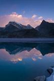 Dudh Pokhari Lake, Gokyo, Solu Khumbu (Everest) Region, Nepal, Himalayas, Asia Fotografisk tryk af Ben Pipe