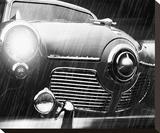Studebaker Rain Trykk på strukket lerret av Richard James