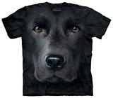 Black Lab Face T-Shirts