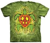 Rasta Peace Turtle T-Shirts