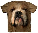 Bulldog Face T-shirts