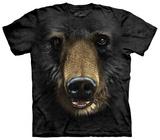 Black Bear Face T-Shirt