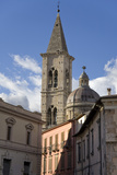 A Church in Sulmona, Italy Reproduction photographique par Scott S. Warren