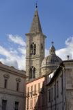 A Church in Sulmona, Italy Fotografisk tryk af Scott S. Warren