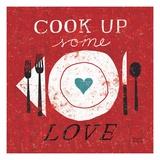 Cook Up Love Giclée-Premiumdruck von Michael Mullan
