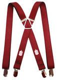 Doctor Who - Tardis Burgundy Suspenders Novelty