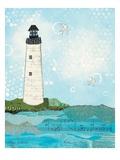 Coastal Notes II Reproduction giclée Premium par Courtney Prahl