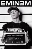 Eminem op foto voor politiedossier, Slim Shady Posters
