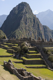 Machu Picchu Is the Site of an Ancient Inca City, at 8,000 Feet Reproduction photographique par Jonathan Irish