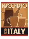 Deco Coffee II Premium-giclée-vedos tekijänä  Pela Design