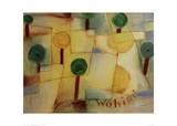 Where To Reproduction procédé giclée par Paul Klee