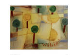 Where To Giclee Print by Paul Klee