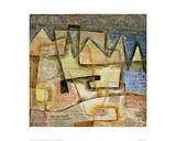 Rocky Coast Giclee Print by Paul Klee