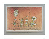 Bright Side Postcard Giclee Print by Paul Klee