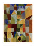 Urban Composition with Yellow Windows Giclée-tryk af Paul Klee